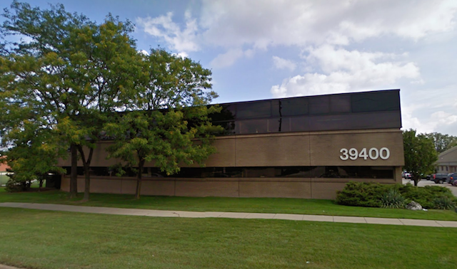 Streetview of our Clinton Township office