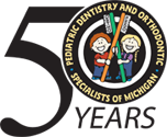 Pediatric Dentistry and Orthodontic Specialists of Michigan Logo