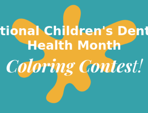 National Children's Dental Health Month COLORING CONTEST!